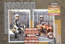 Off Road Scrapbook Layouts & Products
