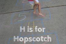 School-letter H