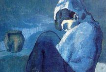 Picasso / Blue period