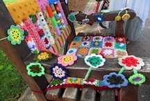 Crochet - Yarn Bombing / Fun and amazing examples of yarn bombing to inspire me. Also other ideas which might become yarnbombs via adaption.
