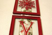 Joy frame w ribbon