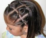 Lil girl hair styles / by Adreana Gomez