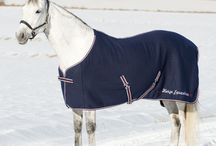 Horse Apparel - Blankets - Coolers / Keep them warm, cool, and protected from rain and flies