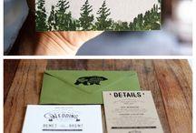 DESIGN / wedding invitations