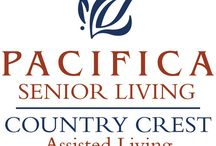 Pacifica Senior Living Country Crest / Pacifica Senior Living Country Crest welcomes you to the Gold Country's finest destination.  Live the extraordinary lifestyle! Pacifica Country Crest is a luxurious full-service retirement community nestled amongst panorama rolling hills, soaring views and the foothills of the Sierra Nevada Mountains.