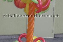 Column /Topiary Balloons