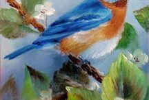 aves para pintar