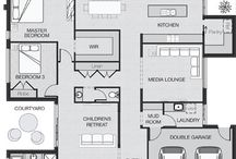Single Storey Floorplans