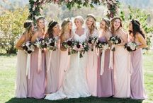Purple Weddings / What color is more regal than purple? All of the beautiful violet, lavender and deep purple hues are sure to be fit for a royal affair!