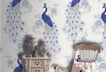 Wall Murals / Lovely hand painted murals on home walls and businesses