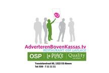 Advertentievoorbeelden AdverterenBovenKassas.tv / Advertentievoorbeelden van adverteerders op de beeldschermen in de Albert Heijn uitzendlocaties van AdverterenBovenKassas.tv.