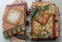 scrapbooking/mini albums/ stampinup ideas / by Rhonda Kouts