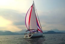 Hello Hong Kong Boats / Hong Kong is hectic, if you want to get out of the city then do it in style and charter a Hello Hong Kong boat. We offer day charters, evening charters, dinner cruises, luxury sailing expeditions, deep sea fishing, surf trips and party junks.