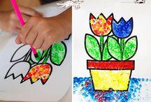 Dílnička pro děti - duben - květiny