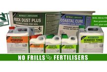 Organic Fertilisers / No Frills Fertilisers was established so that premium organic fertilisers could be offered at affordable prices. They are committed to organic and sustainable soil management and the improvement of nutrient density in the food  that we eat.  Developed by an organic agronomist, all products are organic approved inputs and are certified by Australia's premier organic certifier NASAA.