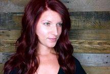 Rode Kleurtinten / Allemaal verschillende rode haarkleuringen