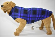 XL Fleece Dog Coats / A warm fleece coat for your extra large dog or puppy!