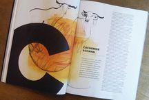 L'Officiel, watercolor illustrations / A series of illustrations made with watercolour, for an article about fashion, L'Officiel Italia