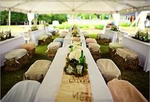 farm lunch / located in Paradise, Queenstown, a marquee set-up for 150 guests for a farm styled lunch