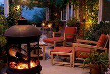 Outdoor fireplaces / by Karen DeWar
