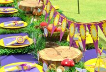 Party table layout