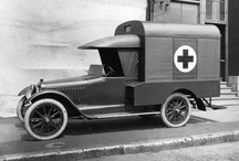 Ambulances / Old and New from around the world. / by Bruce Davis