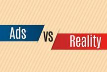 Ads VS Reality