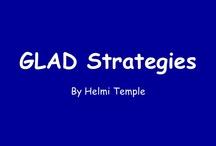 Kindergarten-GLAD strategies