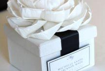 gift box wedding ideas