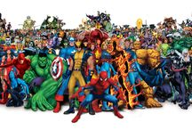 The Marvel Universe / by Danielle Hill