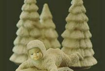 Snowbabies from 1986 / See the original 9 Snowbabies first created by Department 56 in 1986!