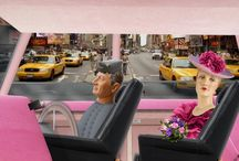 Lady Penelope and Parker in New York