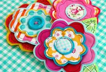 Fabric brooch ideas