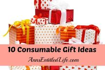 Gift Giving Ideas (mostly NOT homemade) *Bonnie's Heart and Home* / Gift-giving ideas that aren't always homemade