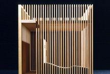 Biennale di Venezia Padiglione per ritrovare gli Amici. Modello ligneo scala 1:10