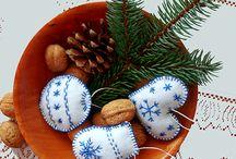 Vánoční ozdoby HOMEMADE