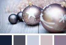 Фольгирование серебром. Совместимые цвета.