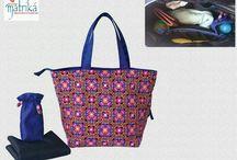 Diaper Bags by Matrika