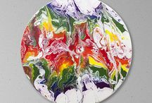 The Rainbow Series / My rainbow color paintings all in one place!