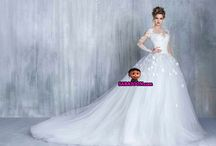 wedding dresses / Wedding and engagement models of famous brands