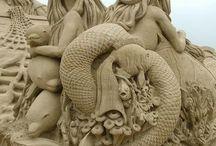 sochy písek