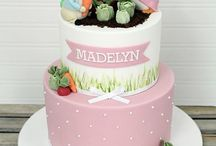 Peter Rabbit cakes