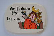 My Etsy Thanksgiving/Fall Creations / Handmade Thanksgiving/Fall Home Decor from my ifrogcrafts shop on Etsy