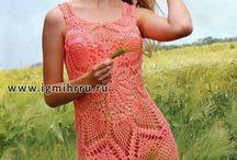 Vestidos de crochet / by Fior D'aliza Wood