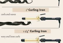 Curling iron size