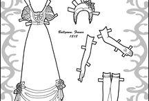 Historical Costume Paper Dolls