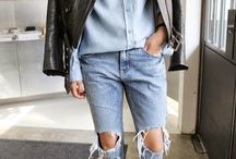 I love this look, but it would look abhorrent on me. / I love wish I was 6' tall  / by Mary Brown Schuldt