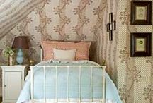 Bedroom Inspiration / Inspiration with a vintage vibe.