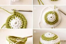 Crochet, knitting, sewing craft