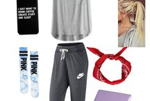 Casual sporty laid back cool look